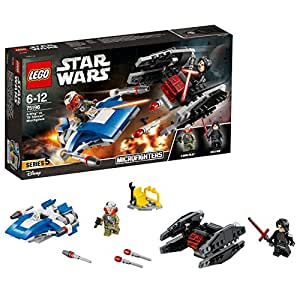 Lego Star Wars TM-A-Wing Contro Microfighter Tie Silencer,, 75196