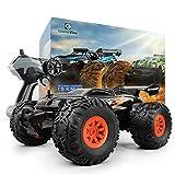 GizmoVine RC Coche Teledirigido Vehículo Hobby, 1/18 Monster Truck 2.4GHz Gran Neumático Coches...