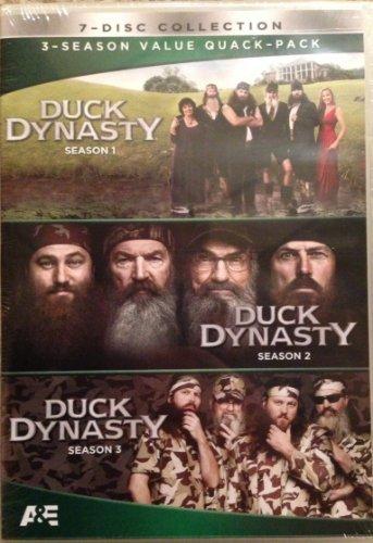 Preisvergleich Produktbild Duck Dynasty,  Seasons 1,  2,  and 3,  one two,  three DVD Value Quack-Pack New