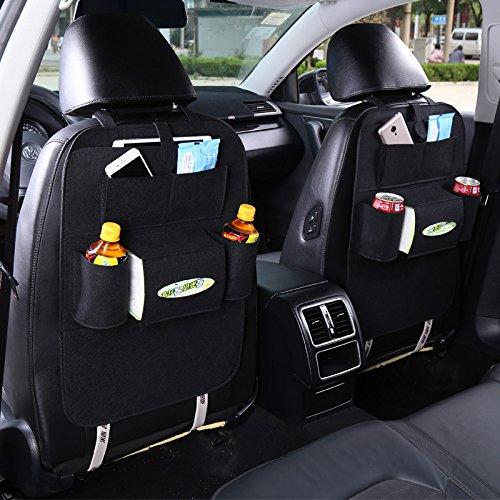 Moontay Auto Auto Rücksitz Lagerung Organizer Trash Net Halter Multi-Tasche Travel Storage Bag Aufhänger für Auto Speicherkapazität Beutel 1PC MEHRWEG