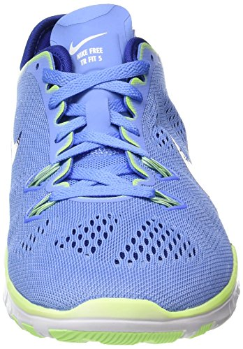 Nike Damen Wmns Free 5.0 TR Fit 5 Hallenschuhe Blau (Chalk Blue/Deep Royal Blue/Ghost Green/White 402)