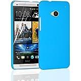 JAMMYLIZARD | Hybrid Back Cover Hülle für HTC One M7, BLAU