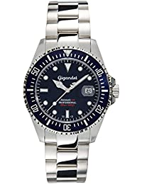Gigandet Sea Ground Automatic Men's Analogue Diver Watch Blue Silver G2-009