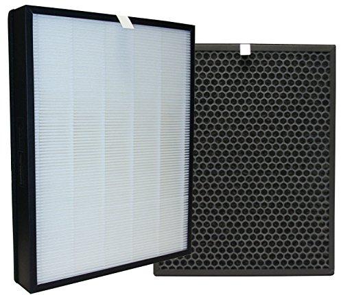 Comedes Ersatzfilterset passend für Philips AC3256/10, AC3259/10 und AC4550/10 Luftreiniger | HEPA und Aktivkohle Filter | einsetzbar statt Philips FY3432/10 und FY3433/10