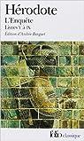 L'Enquête. Livres V à IX de Hérodote ,Andrée Barguet (Traduction) ( 2 février 1990 )