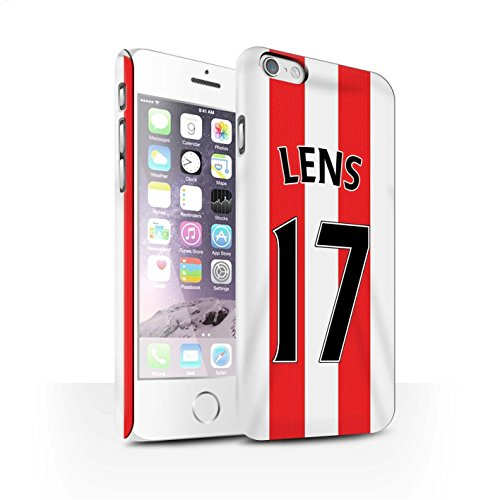 Offiziell Sunderland AFC Hülle / Matte Snap-On Case für Apple iPhone 6S / Pack 24pcs Muster / SAFC Trikot Home 15/16 Kollektion Lens