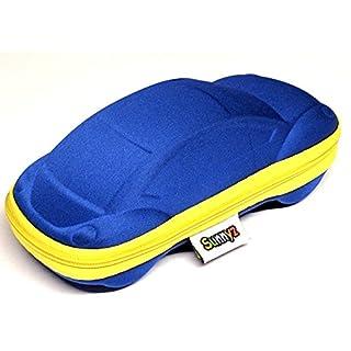 Kinder Sonnenbrille Fall (Blaues Auto)