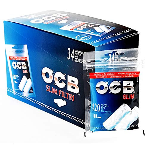 ocb filtri slim 6 mm - 34 buste