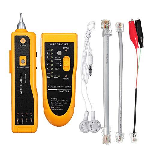 ZHENWOFC Kabel Drahtverfolger Tracer Netzwerkkabel Tester Detector Line Finder Diagnose Tone Tool Hardware-Ersatzteile -