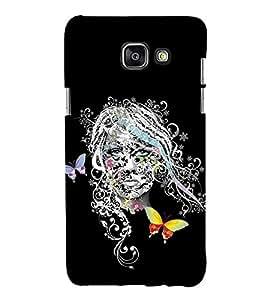 Girl Graffiti 3D Hard Polycarbonate Designer Back Case Cover for Samsung Galaxy A3 (2016) :: Samsung Galaxy A3 2016 Duos :: Samsung Galaxy A3 2016 A310F A310M A310Y :: Samsung Galaxy A3 A310 2016 Edition