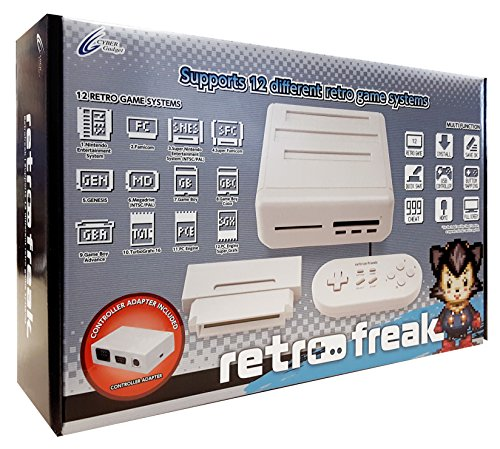 Retro Freak Consola Premium (12 En 1)