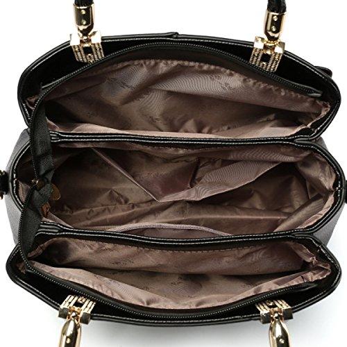 Dame Handbag Fashion Trend Kampf Farbe Schultertasche Messenger Bag D