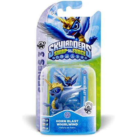 Skylanders: Swap Force - Figurina Single Horn Blast Whirwind