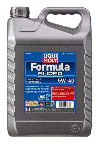 Motoröl Liqui Moly Formula Super SAE 5W-40, Inhalt: 5 l