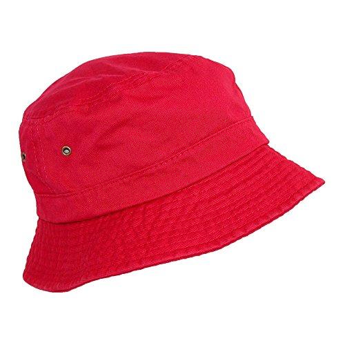 ac8792febafb6 DPC Global Trends - Gorro de Pescador - para Mujer Rojo Rosso S M