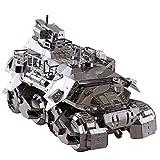 MQKZ Acier Cadeau Pionnier modèle 3D Jouet véhicule blindé Bricolage Cadeau de...