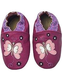 Rose & ChocolatRCC Butterfly - pantuflas de aprendizaje Bebé-Niños