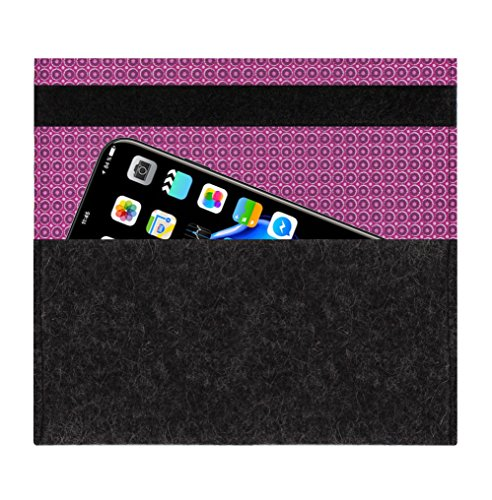 [lvBAG] AllStars diamond blue Hülle Tasche aus 100% Wollfilz für Apple iPhone 6 - Handemade in Germany von luvthings dots