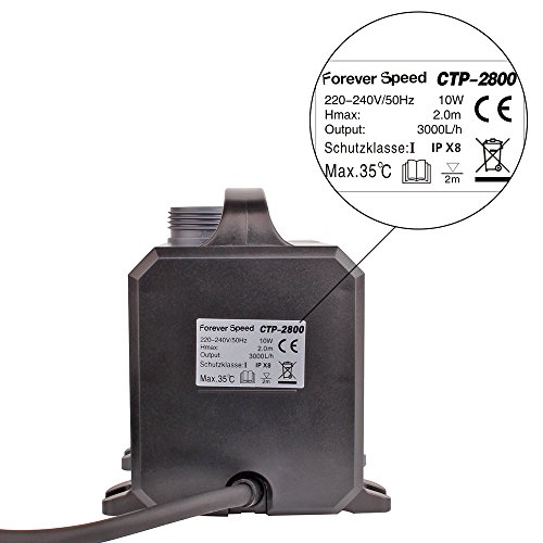 SPEED Super ECO Teichpumpe 3000L/H