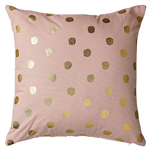 Bloomingville Coussin Pois Or