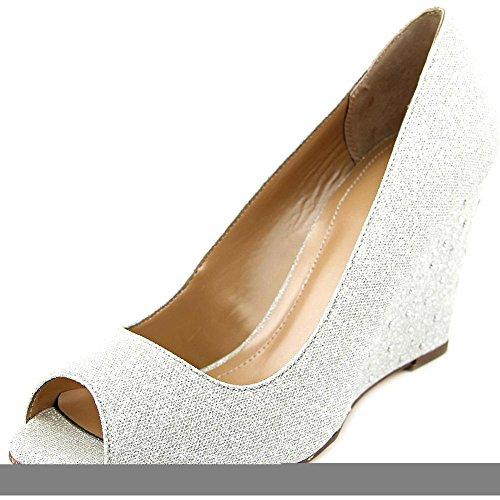 Style & Co Cecelie Toile Talons Compensés silver