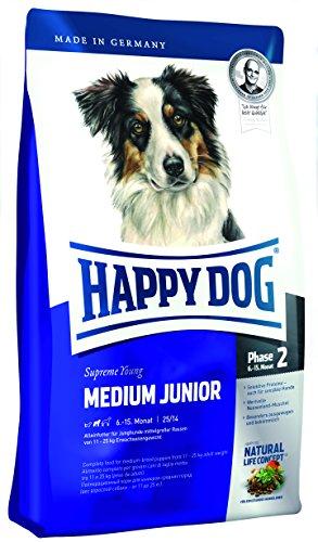 Happy Dog Medium Junior 25 Hundefutter 3421 10 kg