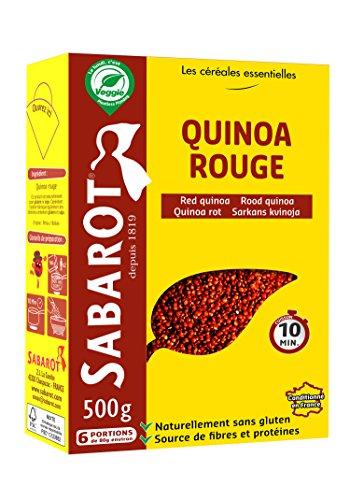 Sabarot - Quinoa rouge en étui 500g