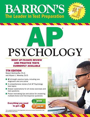 Barron's AP Psychology (Ap Psychology Exam Review Book)