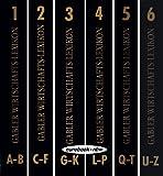Gabler Wirtschafts-Lexikon: 1. Band A-B / 2. Band C-F / 3. Band G-K / 4. Band L-P / 5. Band Q-T / 6. Band U-Z