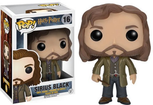 Funko-6570 Sirius Black Vinyl Figure, Pop collection, Serious Harry Potter (6570)