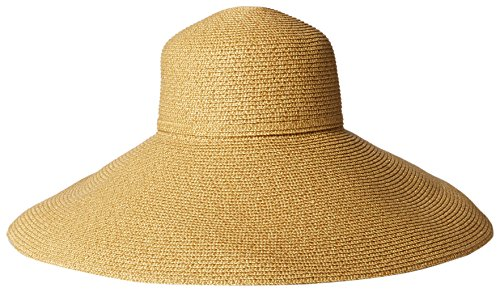 gottex-womens-belladonna-wide-brim-packable-sun-hat-rated-gold-one-size