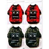 BKPH Hunde Pullover Europa und die Vereinigten Staaten Hundekleidung Mode Baumwolle Warm Halten Kleidung für Haustiere, Green, XL