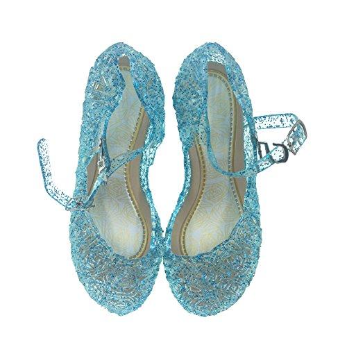 88f1f5686d Tyidalin Niña Bailarina Zapatos de Tacón Disfraz de Princesa Zapatilla de  Ballet.