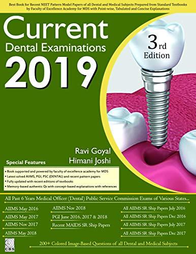 Current Dental Examination-2019
