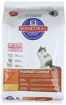 Hills - Science Plan / 8000 - Nourriture pour chat adulte - Spécial boules de poil - 5kg