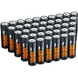 AA Batteries Pack of 40 by 100% PeakPower