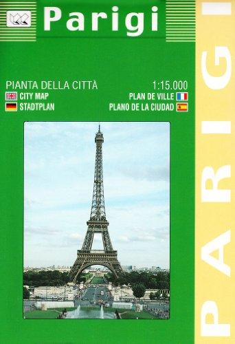 Parigi 1:11.400 (Carte stradali) por Litografia Artistica Cartografica (LAC)