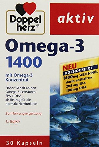 Doppelherz aktiv Omega-3 1400, 30er, 3er Pack (3 x 30 Stück)