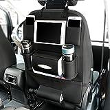 cfzc Autositz Tasche Speicher, PU Leder Qualität Multi Pocket Organizer Auto Sitz Kids Travel Accessoires Tasche Auto Zubehör