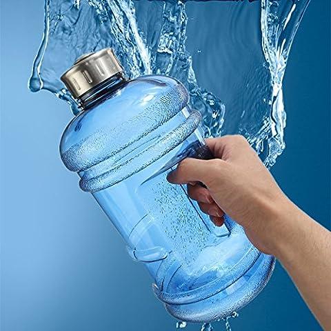 Elfeland BPA Free Half Gallon Water Bottle,Drinking Container Jug -
