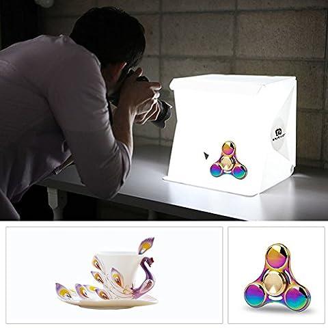 Mini Foldable Portable LED Foto Studio Wasserdicht für Handy oder