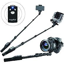 Diseño de disparador de fotos Bluetooth FugeTek profesional para iPhone 6/6 Plus, iPhone 4 5 5s 5c, Android, Gopro, Cámara Digital, - [excosports Bluetooth incompatibilidad]