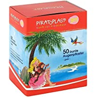 PIRATOPLAST Girl Augenpflaster groß 57x72 mm 50 St Pflaster preisvergleich bei billige-tabletten.eu
