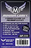Mayday Games 56 x 87 mm SLEEVES Standard USA Premium Card Game (Pack of 50)