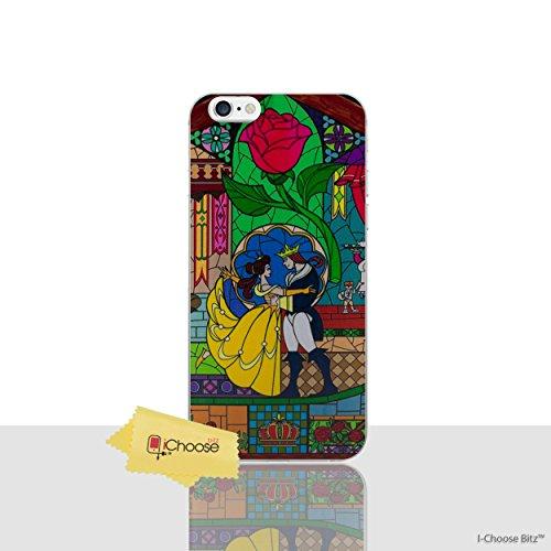 iPhone 6/6s Die Schöne und Das Biest Rose Silikonhülle / Gel Hülle für Apple iPhone 6S 6 (4.7