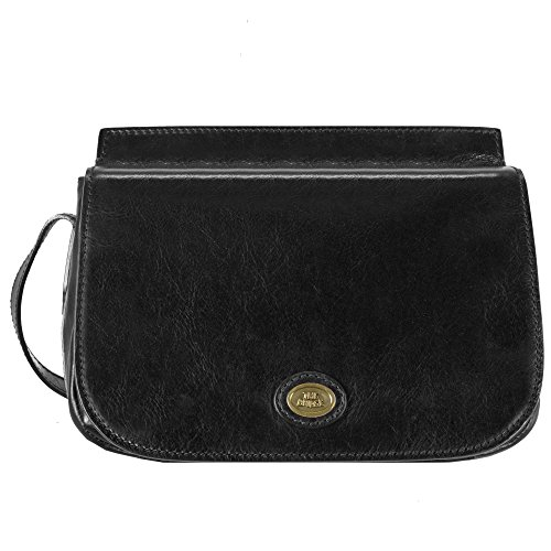 The Bridge Story Donna Borsa a tracolla I pelle 27 cm nero-goldfarben