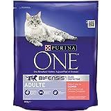 Purina One Kroketten für ausgewachsene Katzen Größe & Geschmack wählbar 1,5kg–6er-Packung(9kg)