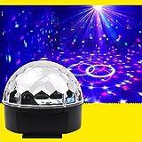 OOFAY LIGHT® LED Projektionslampe Sound Control Crystal Magic Ball Bühne Licht Bar Ballroom Licht Vollfarb-Rotary Light