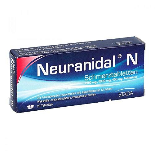 NEURANIDAL N Tabletten 20 St Tabletten