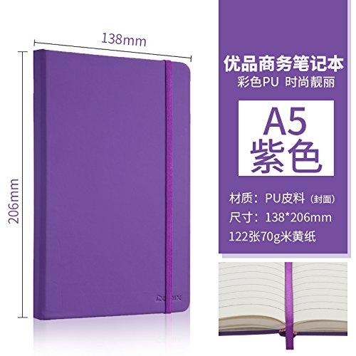 XIAOXINYUAN Notebook Cancelleria Per Ufficio A5 Blocco Note Di Legame Business Office Diario Di Blocco Note Di Violetta